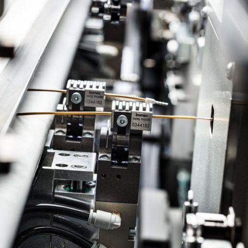 Automat obróbczy Komax Zeta 640