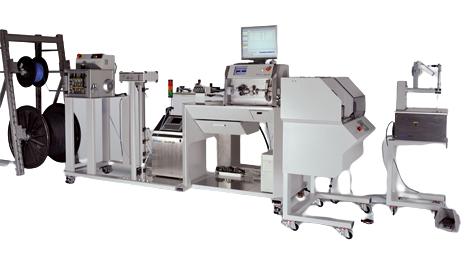 Maszyna podająca i odbierająca przewody Komax DPS 261