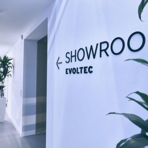 Showroom Evoltec