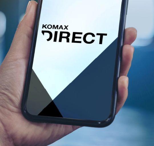 Aplikacja na telefon Komax Direct